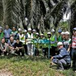 2019年マレーシアでの植林活動