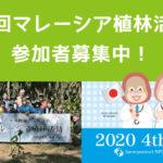 第4回マレーシア植林活動研修 参加者募集!